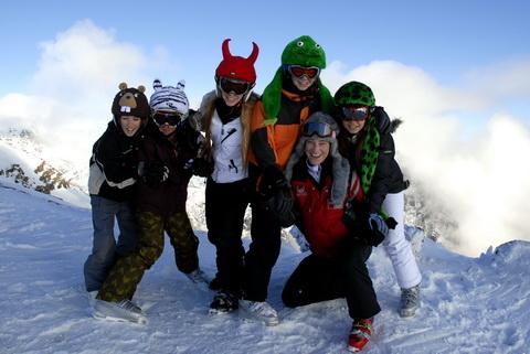 ski patagonia summer scape